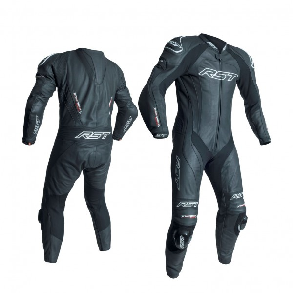 RST Tractech Evo Iii Mens Leather Suit Black & Black