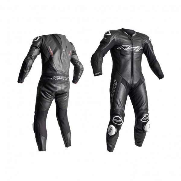 RST Tractech Evo R Mens Leather Suit Black & Black