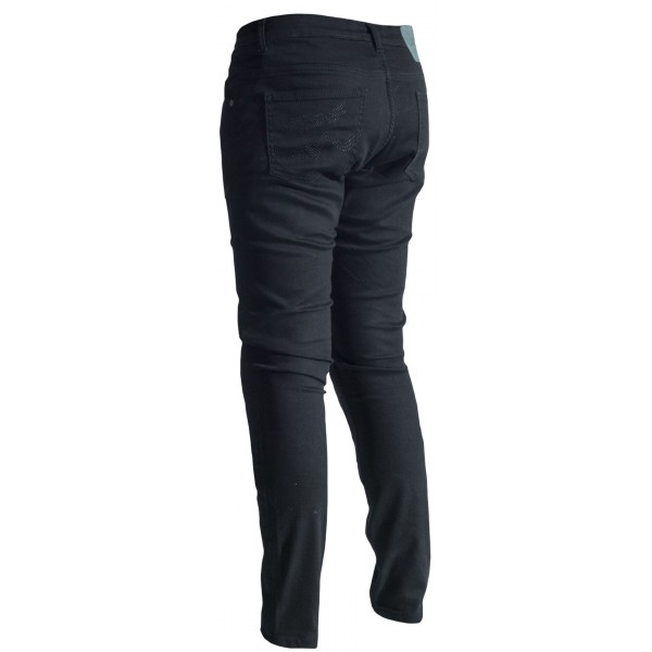 RST Aramid Straight Leg Ladies Textile Jean Black