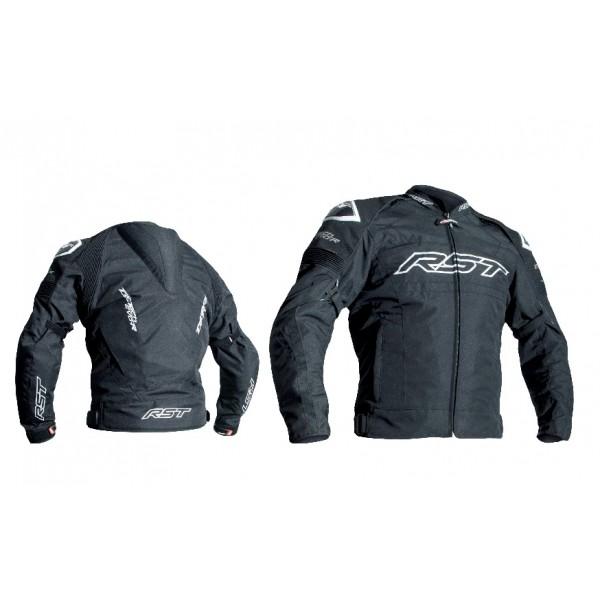 RST Tractech Evo R Mens Textile Jacket Black & Black