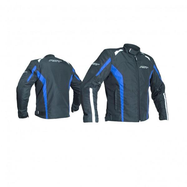 RST Rider Mens Textile Jacket Black & Blue