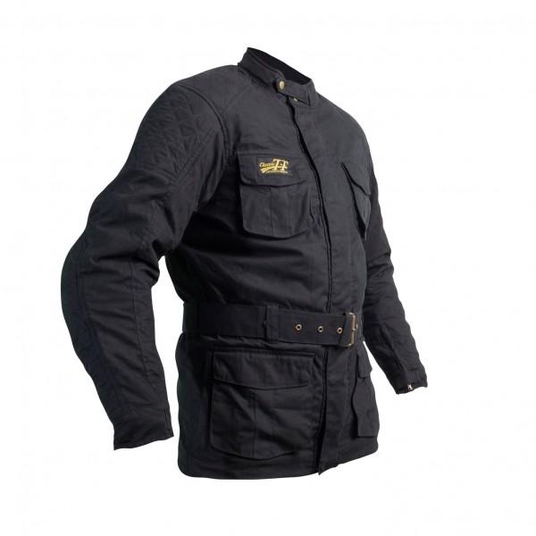 RST Classic Tt Wax 3/4 Iii Mens Textile Jacket Black
