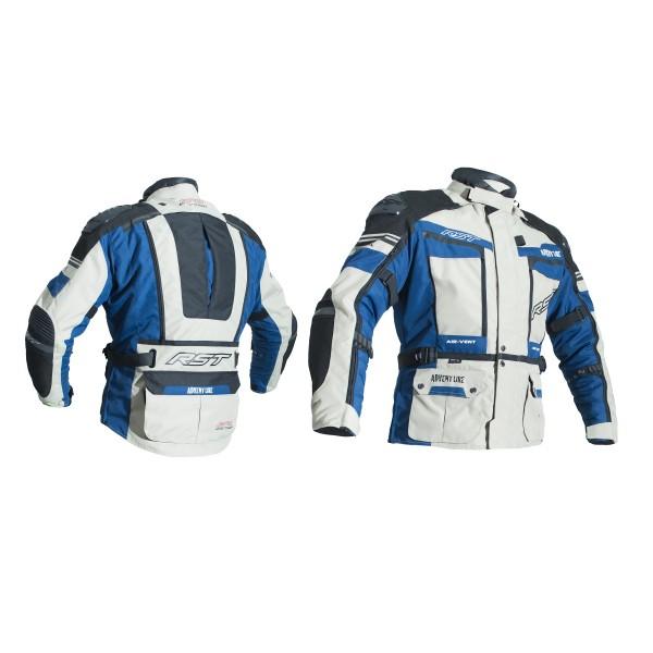 RST Pro Series Adventure Iii Mens Textile Jacket Blue & Sand