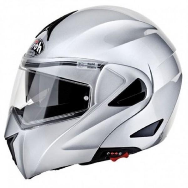 Airoh Miro Flip Front Helmet Silver