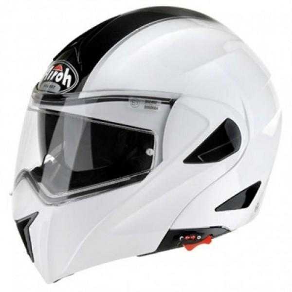 Airoh Miro Voyager Flip Front Helmet White