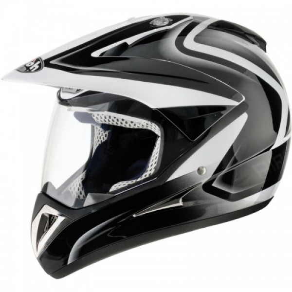 Airoh S4 Stripe Black & White