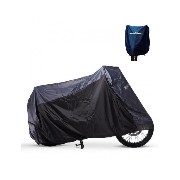 Royal Enfield Motorcycle Cover Black