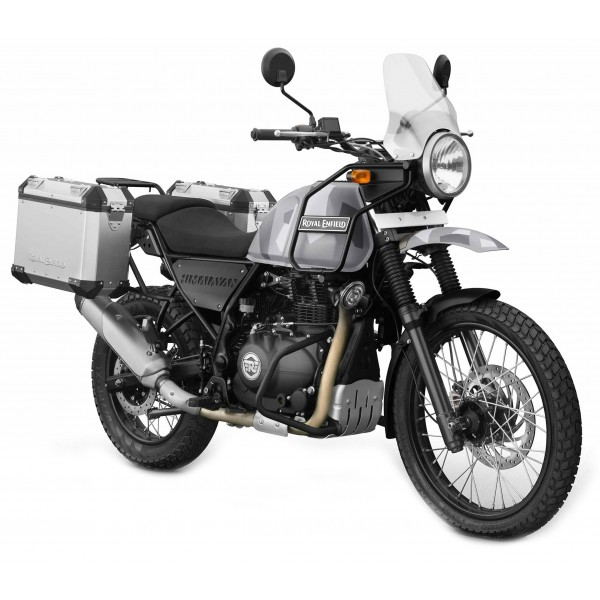 Royal Enfield Himalayan Panniers & Rails Available In Aluminium Or Black