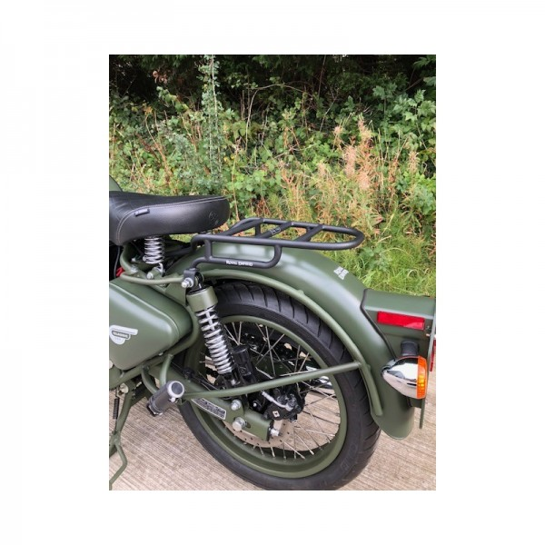 Royal Enfield Classic Rear Rack Black
