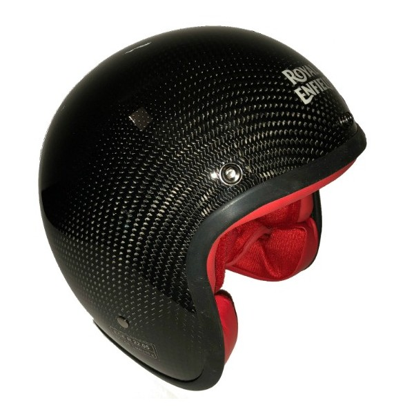 Royal Enfield Carbon Open Face Helmet