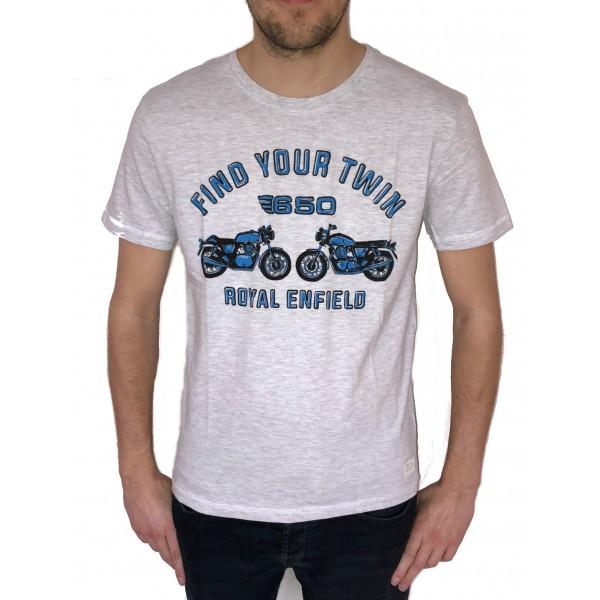 Royal Enfield P Platform T-Shirt Grey