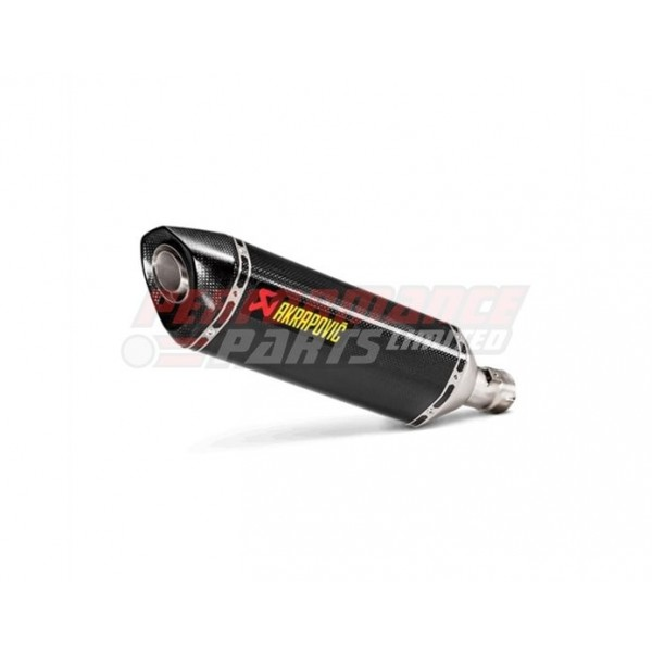 GSX-R1000 17- Akrapovic Carbon Silencer Slip-On Kit
