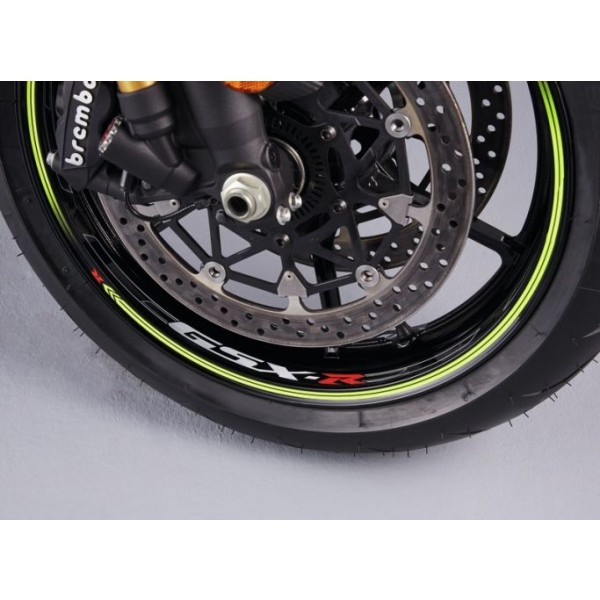 Genuine Suzuki GSX-R1000/R wheel decal single wheel