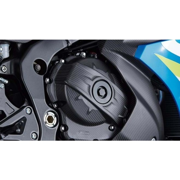 Genuine Suzuki GSX-R1000/R Carbon Clutch Cover - Matt Finish