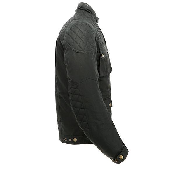 Merlin Yoxall Wax Textile Jacket - Black
