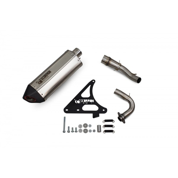 Scorpion Royal Alloy GP200 LC Exhaust Stainless