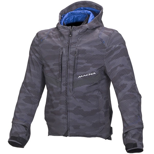 Macna Habitat Textile Jacket Camo Grey