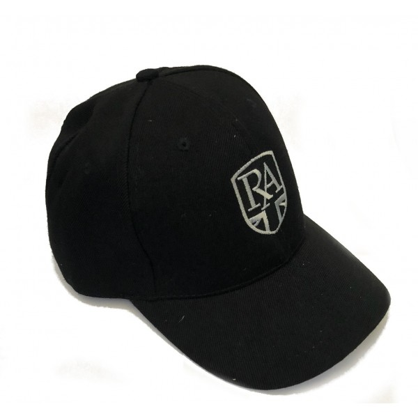 Royal Alloy Cap  Black