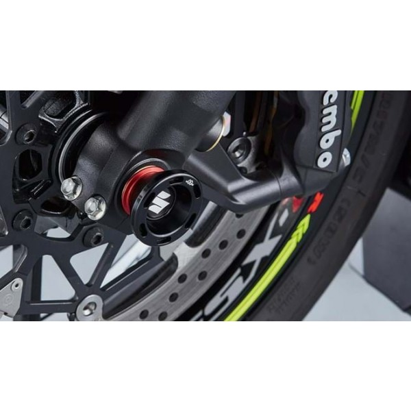 Suzuki GSX-R1000R Axle Slider Set  Front Wheel