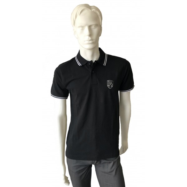 Royal Alloy Polo Shirt Black