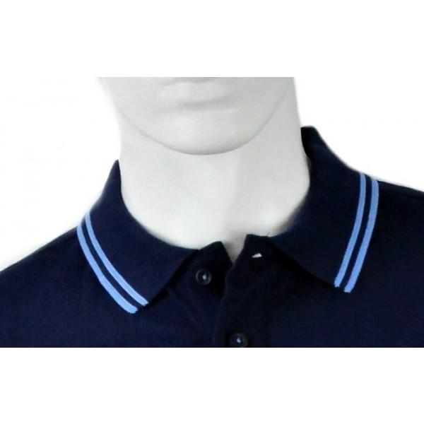 Royal Alloy Polo Shirt Blue