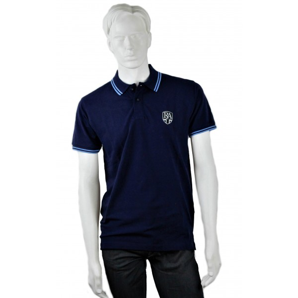 Royal Alloy Polo Shirt Blue