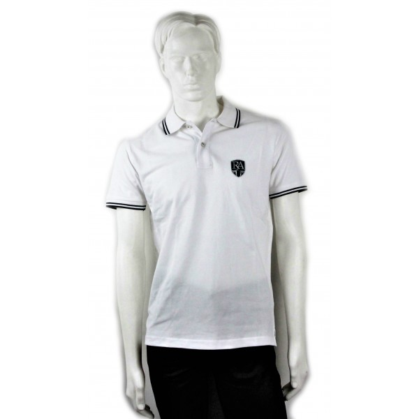 Royal Alloy Polo Shirt White