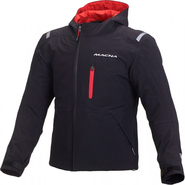 Macna Refuge Textile Jacket - BLACK