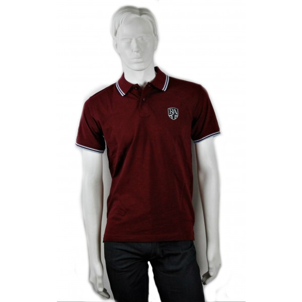 Royal Alloy Polo Shirt Burgundy