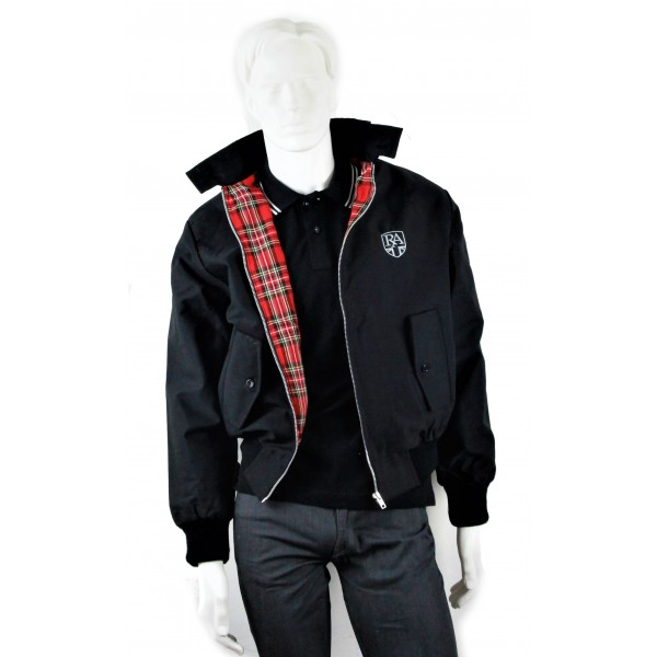 Royal Alloy Harrington Jacket Black