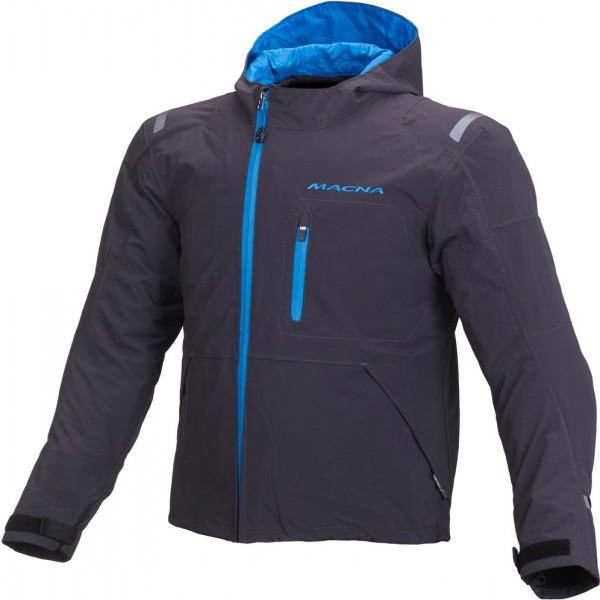 Macna Refuge Textile Jacket - BLUE/GREY