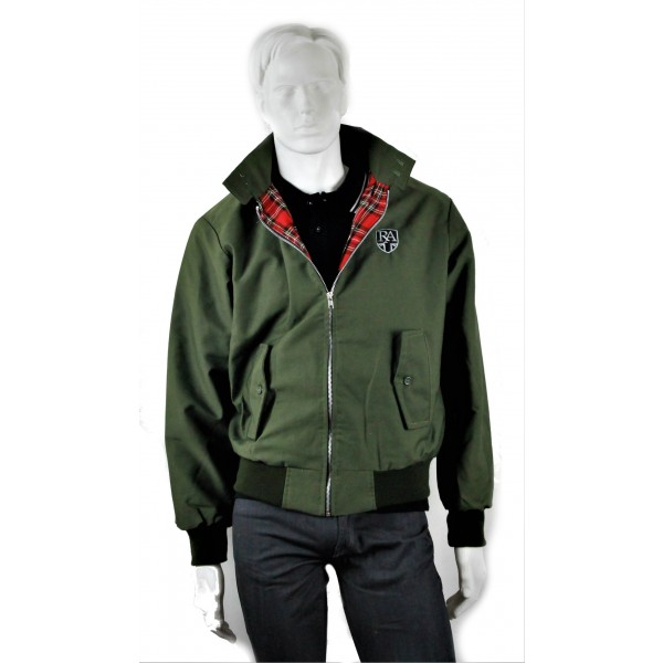 Royal Alloy Harrington Jacket Olive