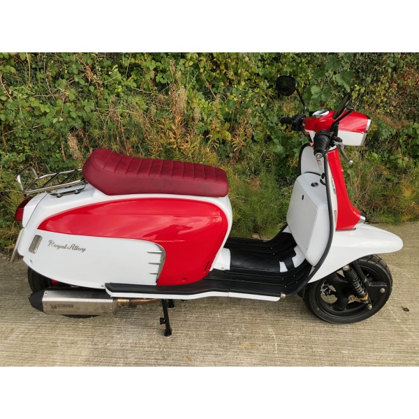 Royal Alloy GT 125/200 Red Seat