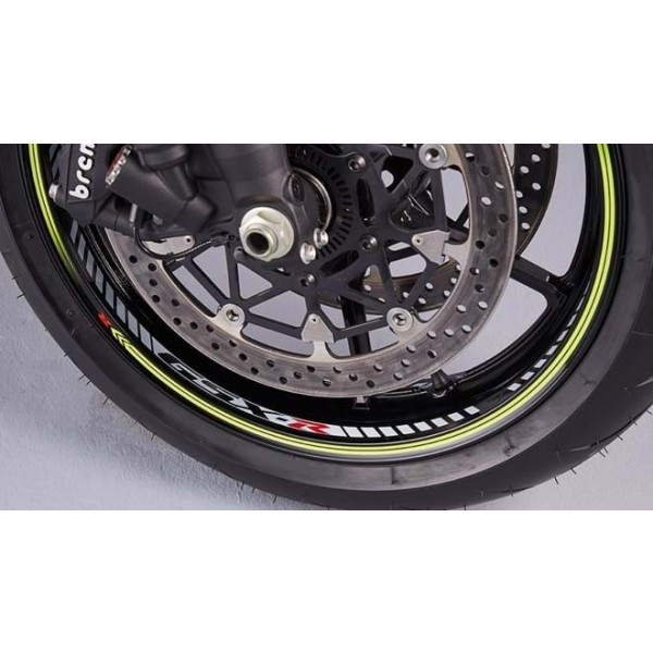 Suzuki GSX-R1000R Wheel decal  Single wheel