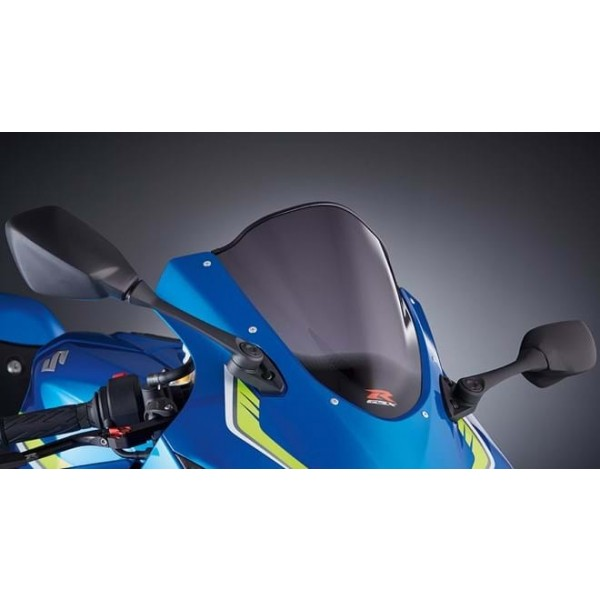 Suzuki GSX-R1000R Double Bubble Windscreen  Smoked Tint