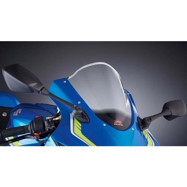 Suzuki GSX-R1000R Double Bubble Windscreen  Clear
