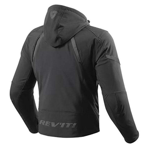 Rev'it Burn Textile Jacket - Black