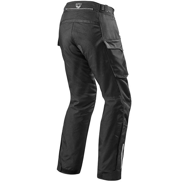 Rev'it Outback Textile Jeans - Black