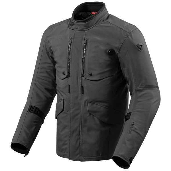 Rev'it Trench GTX Textile Jacket - Black