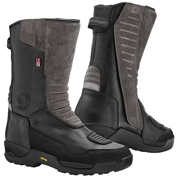 Rev'it Gravel OutDry Leather Boots - Black