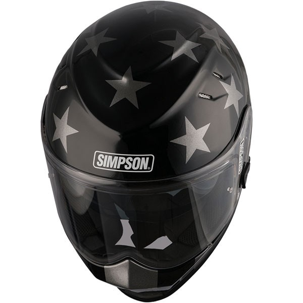 Simpson Venom Subdued - Black / Silver