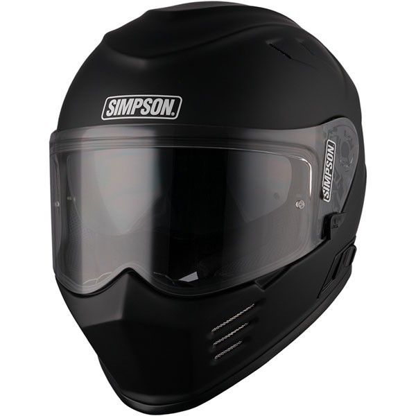 Simpson Venom Solid - Matt Black