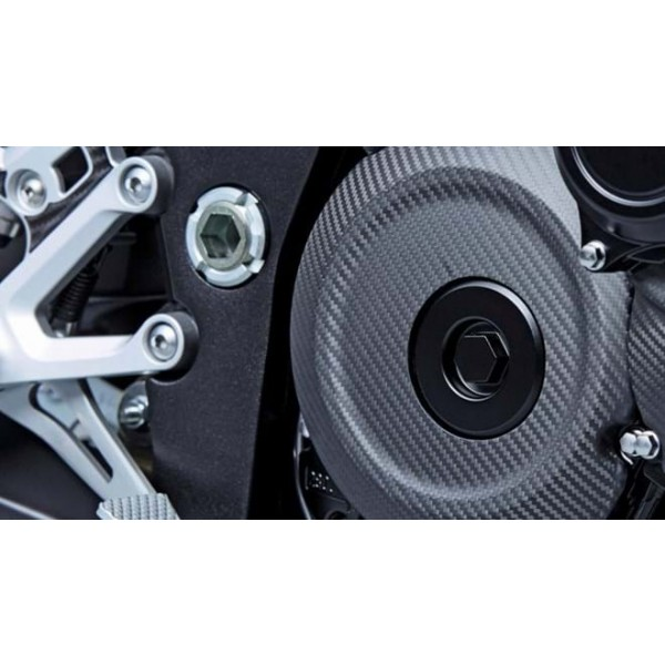 Suzuki GSX-S1000Z Carbon Fibre Clutch Cover 990D0-04K25-CRB