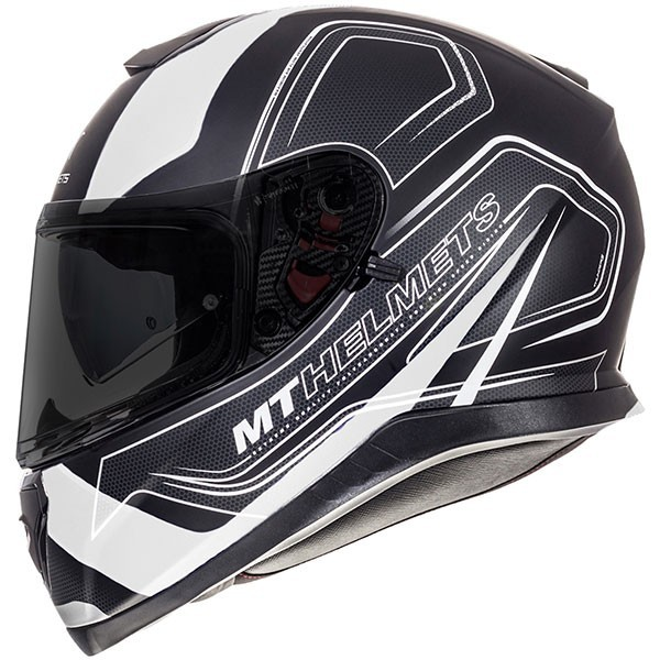 MT Thunder 3 Trace - Matt Black / White