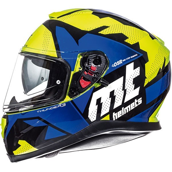 MT Thunder 3 Torn - Fluo Yellow / Blue