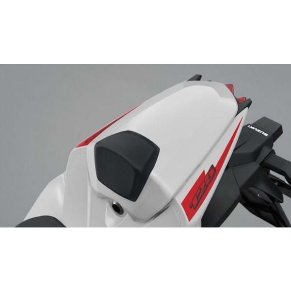 Rear Seat Tail Cover White