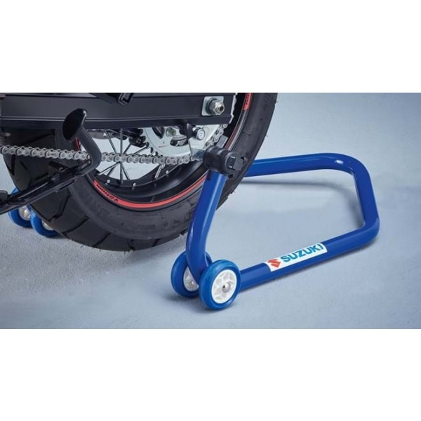 Rear Wheel Service Stand Blue