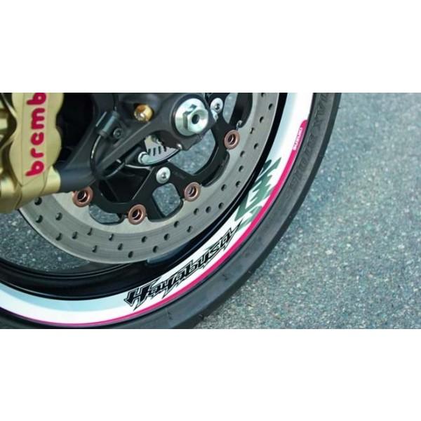 Hayabusa Wheel Decal Set