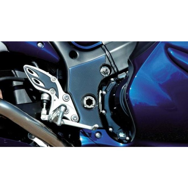 Hayabusa Frame Protection Sticker Set Carbon