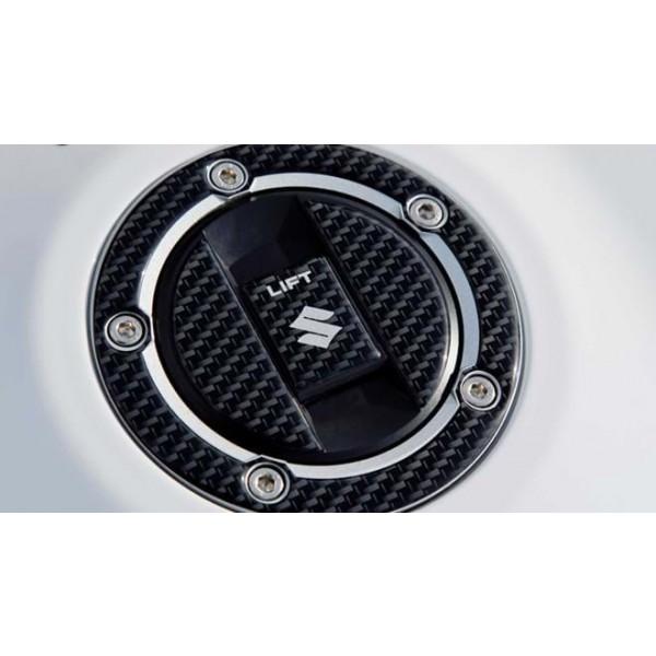 Hayabusa Fuel Cap Protector Carbon